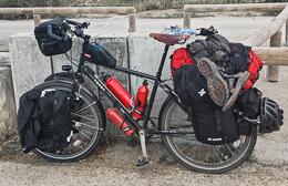 Nuestro equipaje y bicicleta