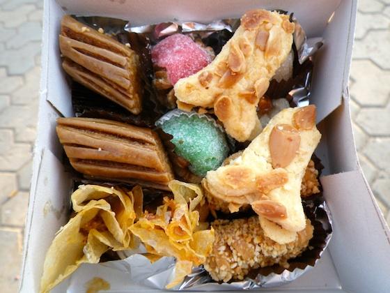 Dulces marroquíes