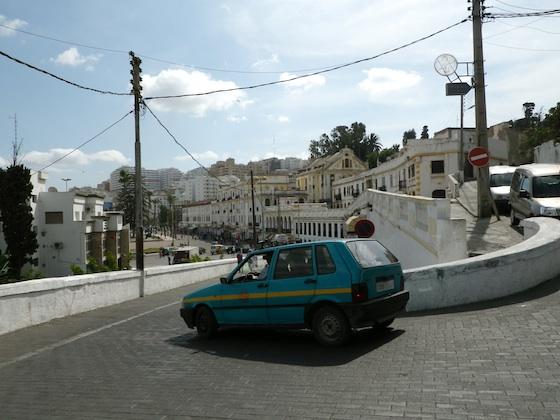 Petit taxi en Tánger