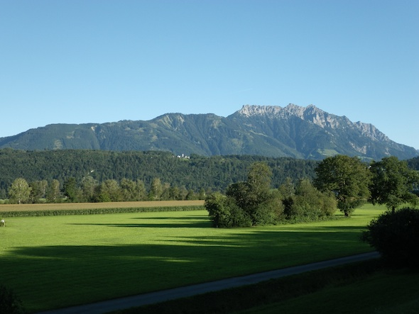 Montañas en Liechtenstein