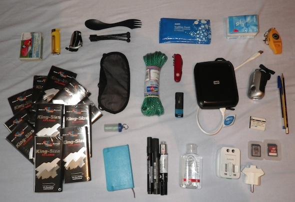 Pablo prepara la mochila (II): Pequeños extras