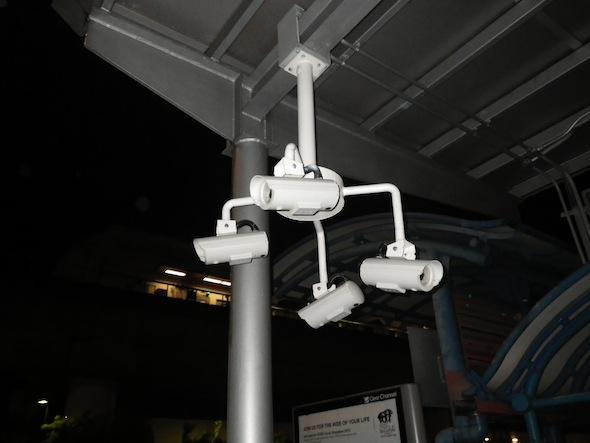 Cámaras de vigilancia en Singapur