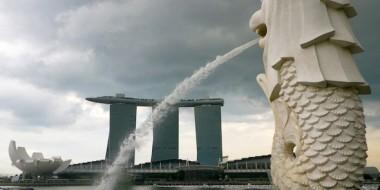 El león de Singapur