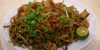 Sabrosos noodles hindúes: Mee Goreng