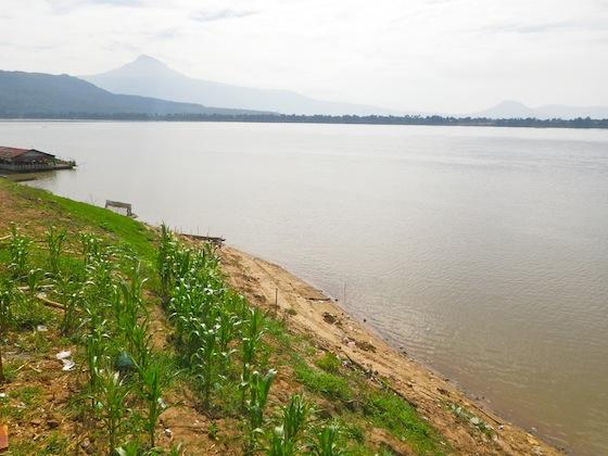 Primera vez que veíamos el Mekong
