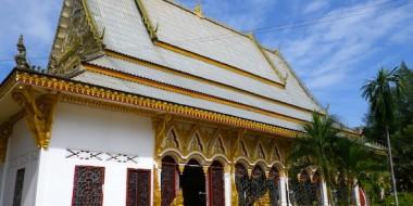 Un templo en Pakse
