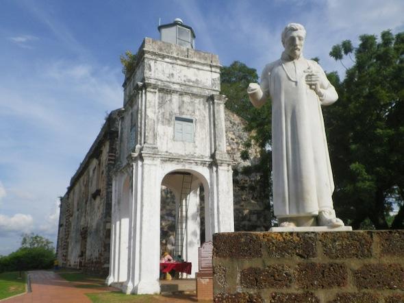 Ruinas de la iglesia de St. Paul Church (San Francis Xavier según los portugueses)