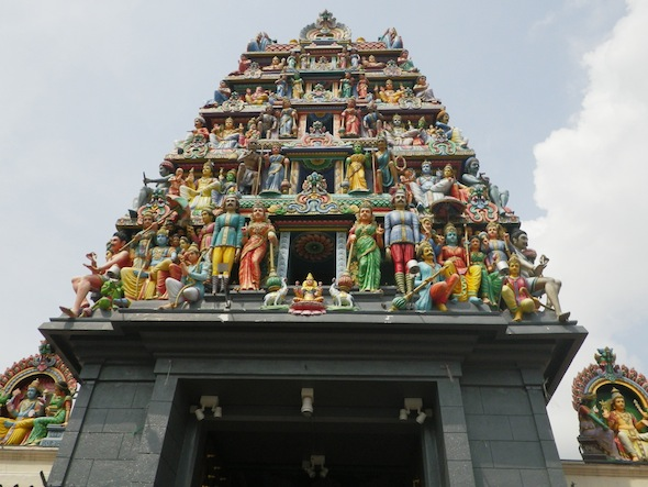 El templo budista más antiguo de Singapur