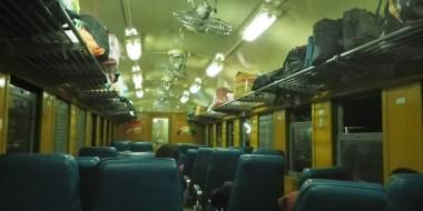 Tren nocturno de Bangkok a Ubon Ratchathani