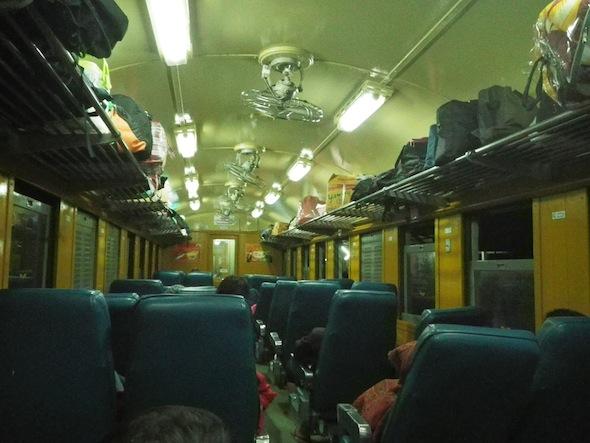 Tren de Bangkok a Ubon Ratchathani