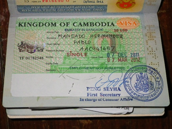 De embajada en embajada