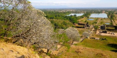 Wat Phou desde la parte superior