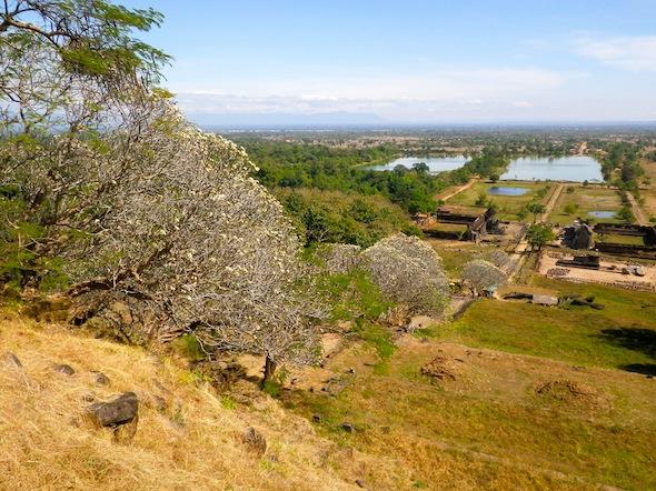 A Wat Phou en bicicleta