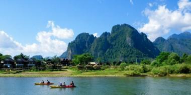 El paraíso mochilero en Vang Vieng