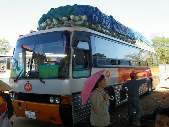 11 horas en autobús hasta Tha Khaek