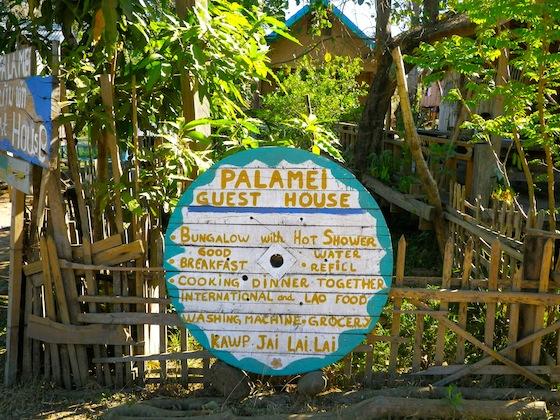 Cartel de Palamei guesthouse