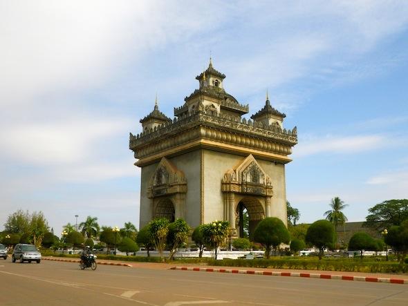 Vientiane, que no Vietnam