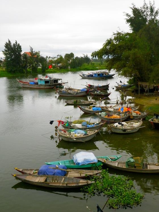 Barcos pesqueros vietnamitas