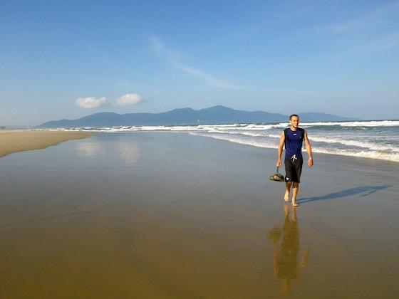 Disfrutando del sol y la playa en Febrero