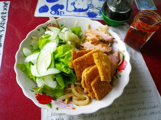 Plato típico de Hoi An: Cao Lau