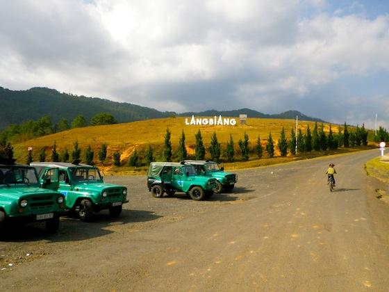 Entrada al parque natural de Lang Biang