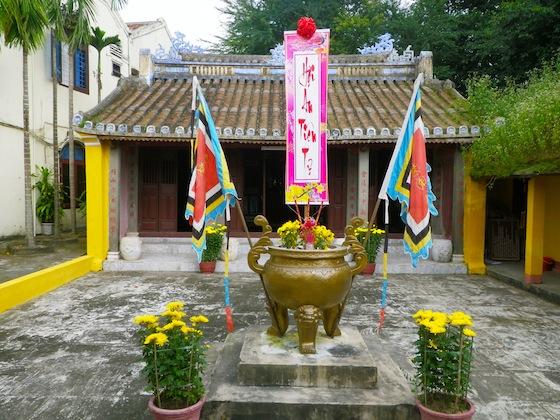 Una de las primeras pagodas que visitamos