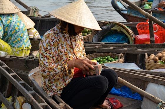 ¡Los hemos probado! ¡Esos sombreros vietnamitas son la mar de cómodos!