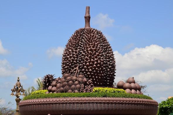 Kampot, la ciudad de las rotondas