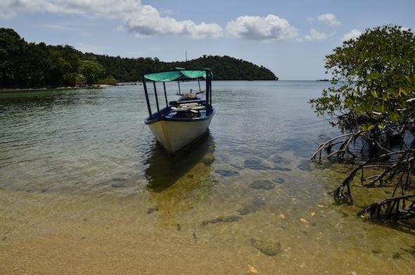 Ko Ta Kiev, una isla inhabitada en la costa de Camboya
