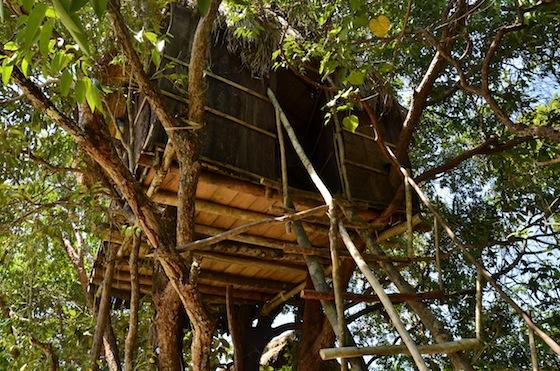 Casa de árbol en Ten 103, Ko Ta Kiev, Camboya