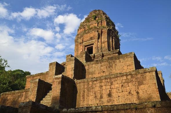 Hindu temple at Angkor, Cambodia