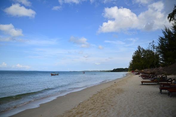 Otres Beach: 4 Kilómetros de tranquilidad en Sihanoukville