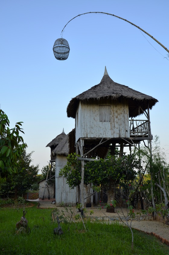 Nuestros bungalows en Kep