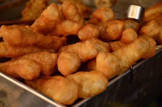 Fritangas dulces en las calles de Phnom Penh