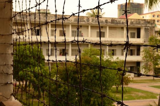 Museo del Genocidio en Phnom Penh, Camboya