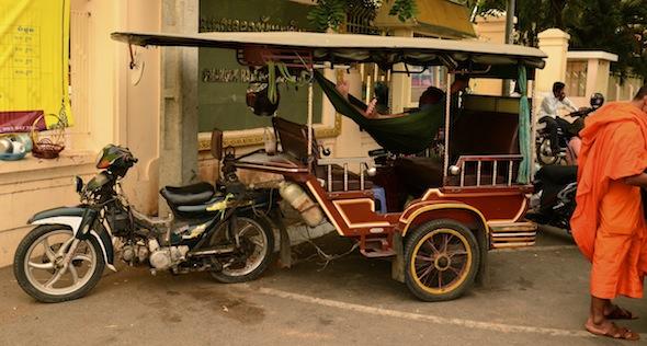 Couchsurfing en Phnom Penh
