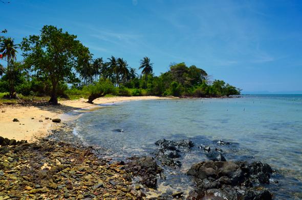Recordando esta paradisiaca playa en Koh Tonsay