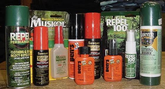 Repelente antimosquitos con DEET 100