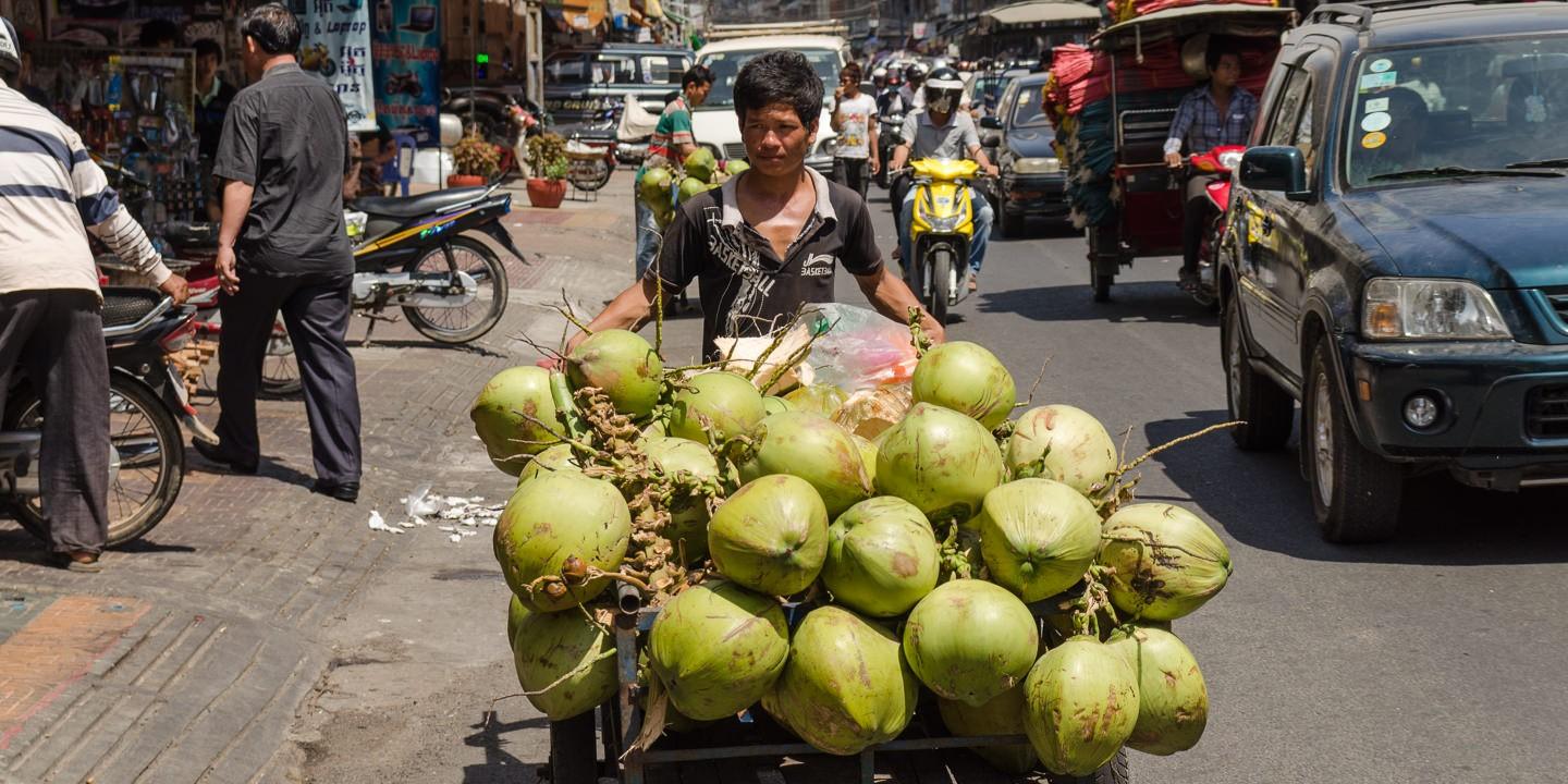 Balance de gastos en Camboya