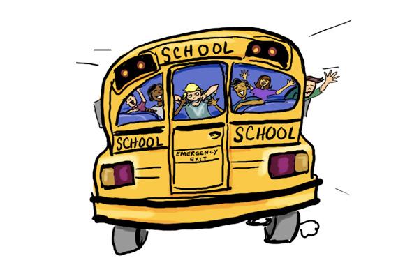 El día que paramos un autobús escolar haciendo autostop