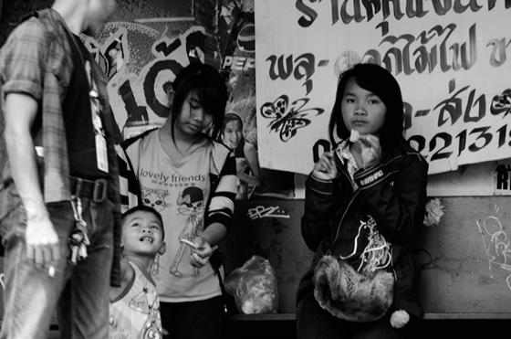 Retratos de la vida en Bangkok, Tailandia