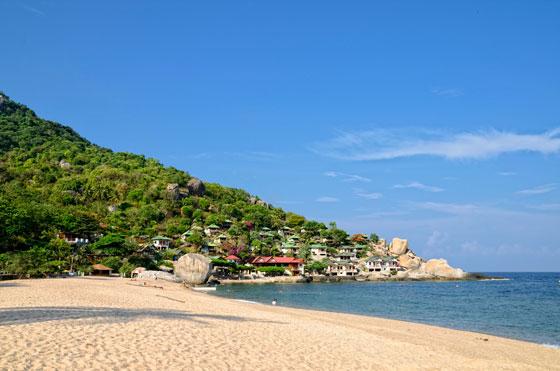 Playa de Ao Hin Wong en Ko Tao, Tailandia