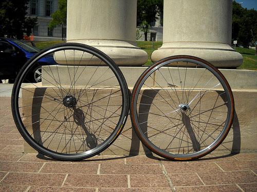 Diferencias entre ruedas de 26 y de 700c
