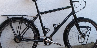 Bicicleta Thorn Nomad en negro