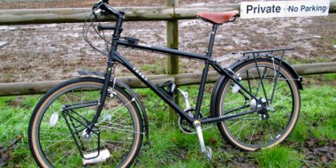 Mi nueva bicicleta Thorn Nomad lista para viajar alrededor del Mundo