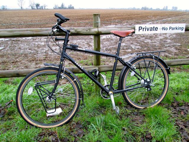 Nuestras nuevas bicicletas a prueba en el invierno inglés