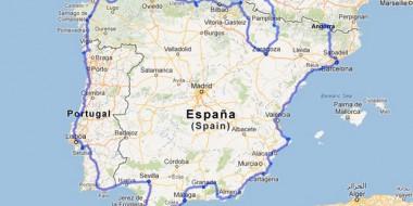 Viajar en bicicleta por la Península, bordeando la costa de España y Portugal