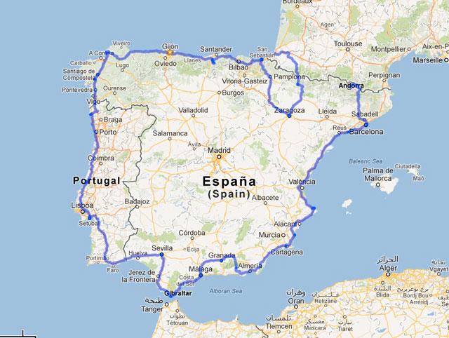 La Península en bicicleta hasta la Costa Blanca
