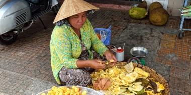 Vendedora en Vietnam