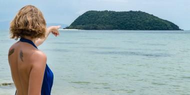 En la isla de Ko Pha Ngan